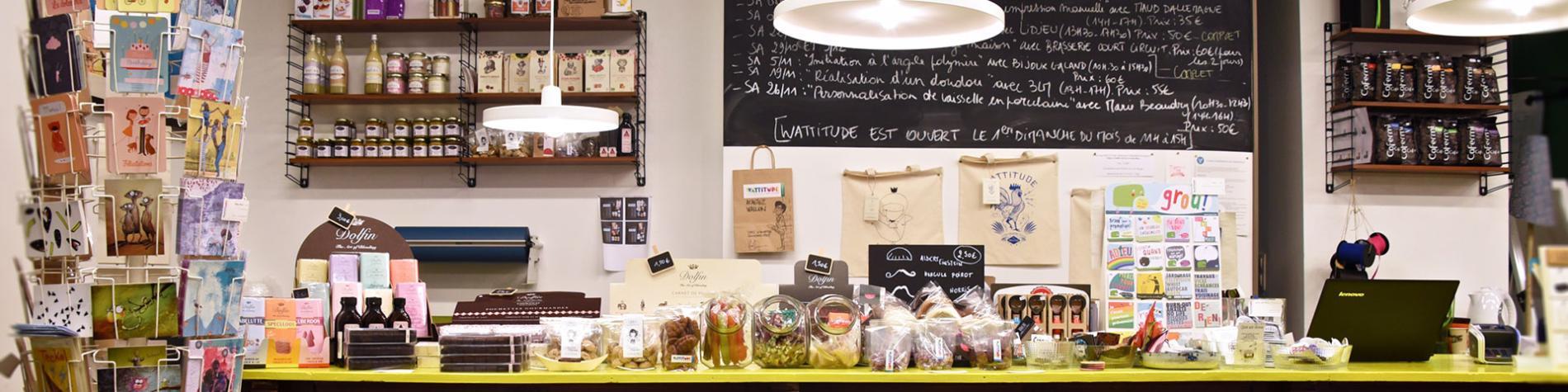 Wattitude - boutique - design - 100% wallon - Liège