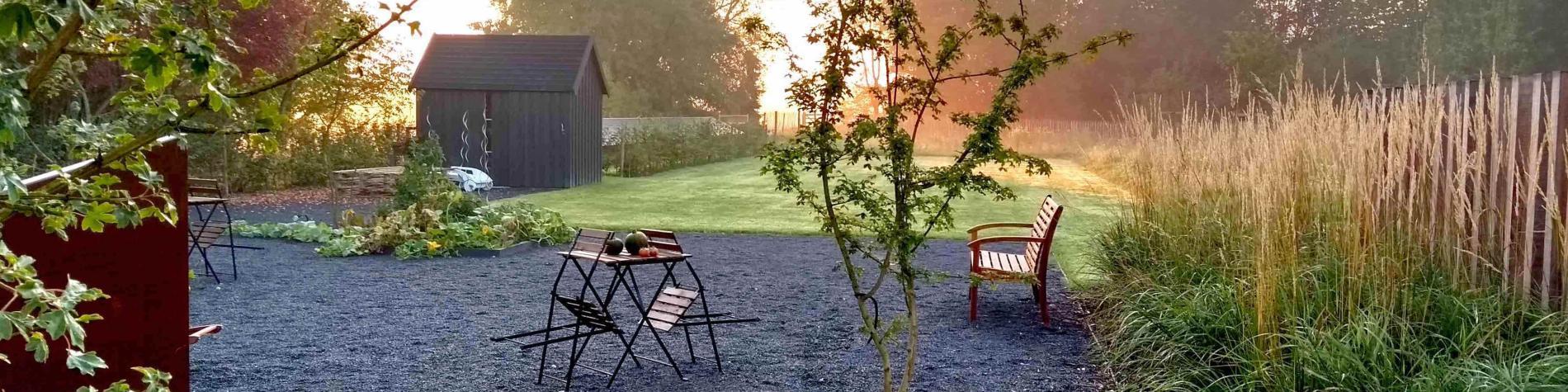 Chambres d'hôtes dimensions M vue sur le jardin