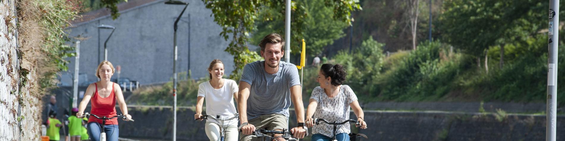 Véloroute - Pèlerins - Herve - Thuin - Circuits vélo - Wallonie