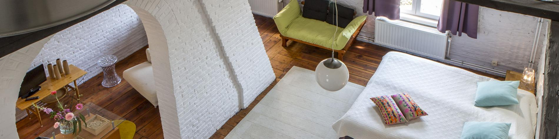 Chambre d'hôtes - Les Greniers de Madelgaire - Soignies