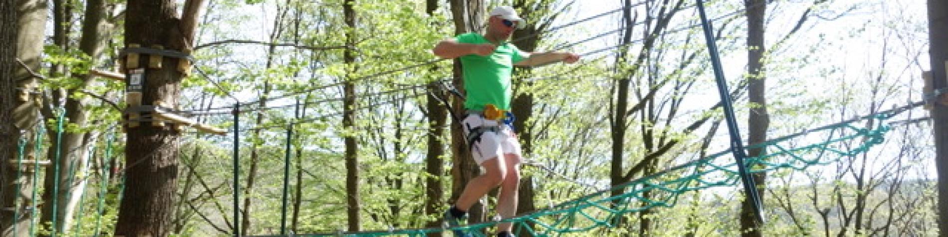 Accrobranche- Ardenne aventures - Nature - Activités - Sport