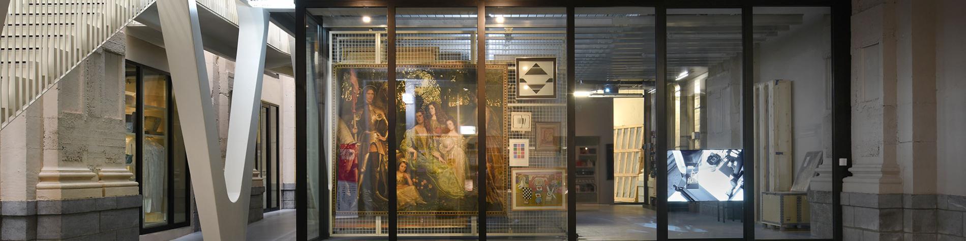 L'Artothèque - Mons - métiers - coulisses - musées - œuvres d'art - restauration