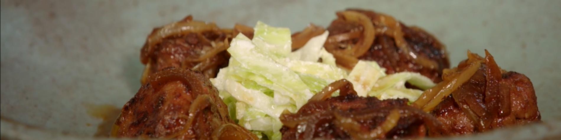Recettes - cuisine - Julien Lapraille - boulets - liegeois