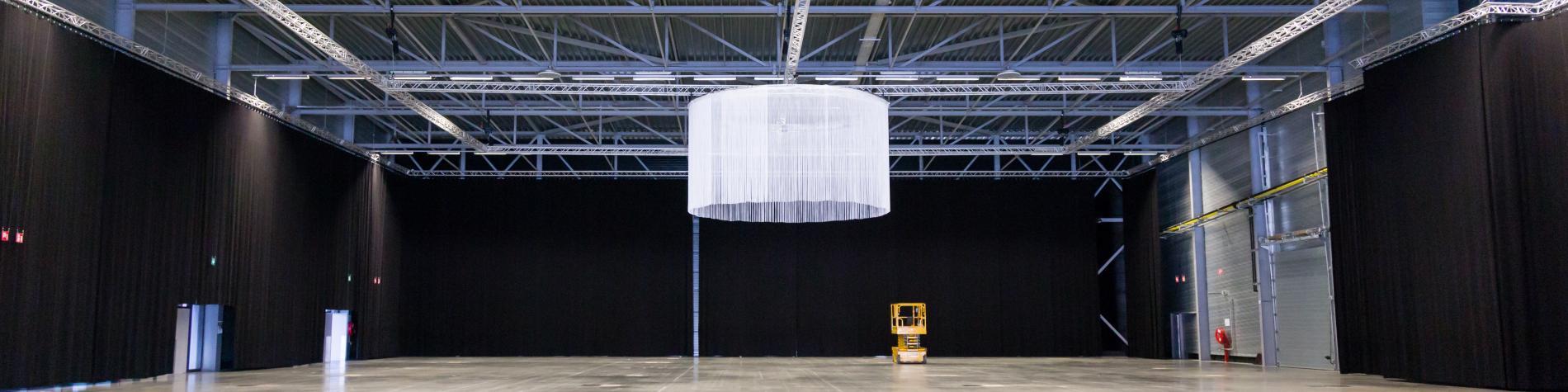 Grand espace de 5000 m2 modulable pour les congrès foires et salons à la Louvière en Wallonie