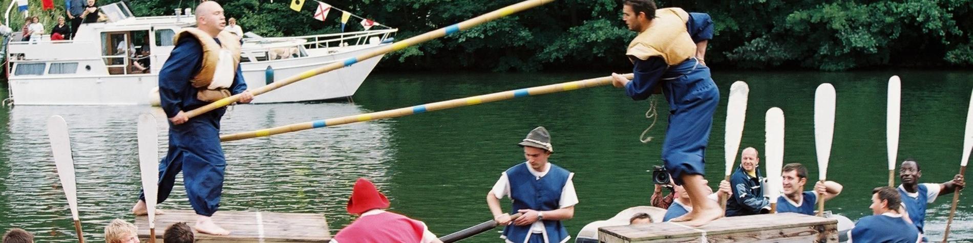 Joutes nautiques - Fêtes du Buley - La Plante - Namur