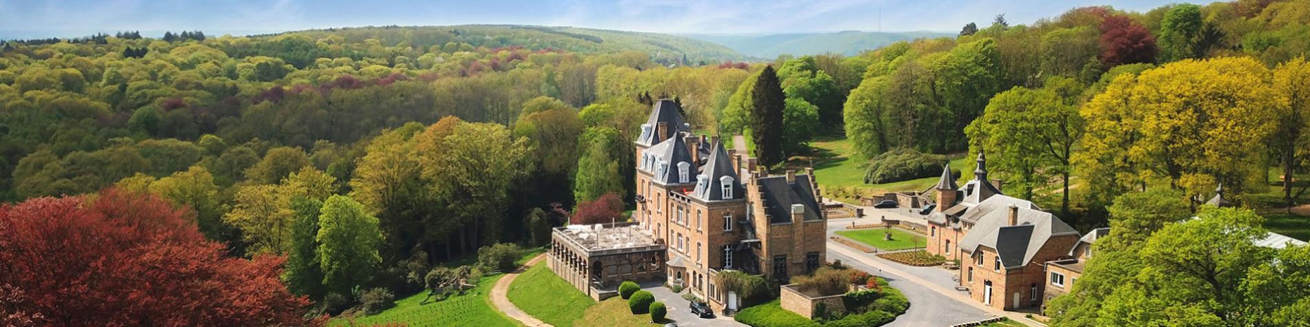 Hôtel - Château de la Poste - Maillen - atmosphère authentique - vue imprenable