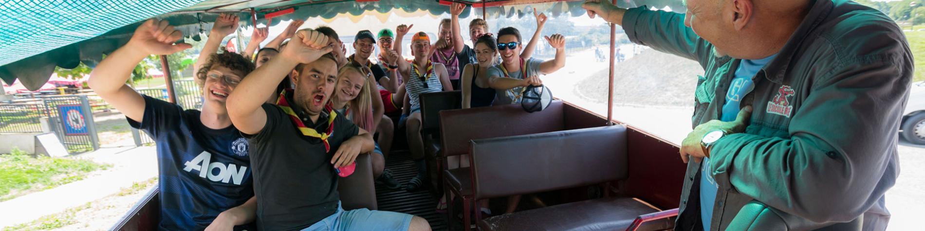 Croco Express - train touristique - Lacs de l'Eau d'Heure