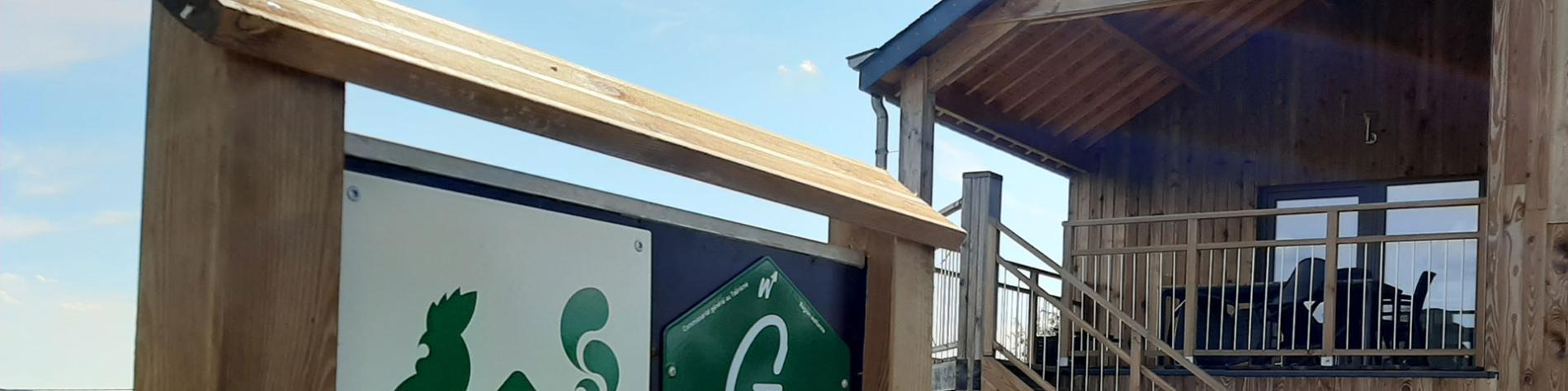 Les Deux petits Pommiers - Gîte rural à Bouillon - extérieur - panneaux
