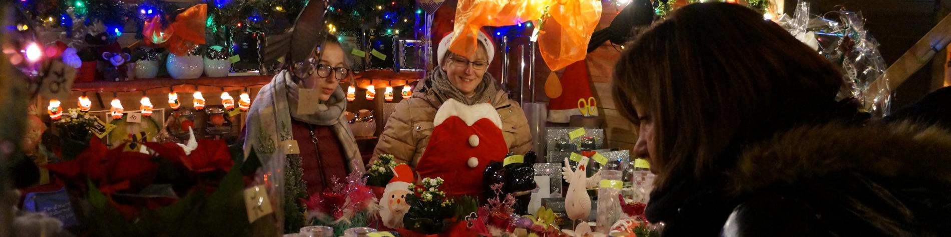 Oupeye's Christmas market