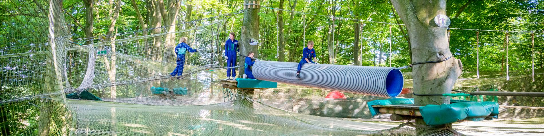 The Aventure Parc Wavre, a trendy theme park near Brussels