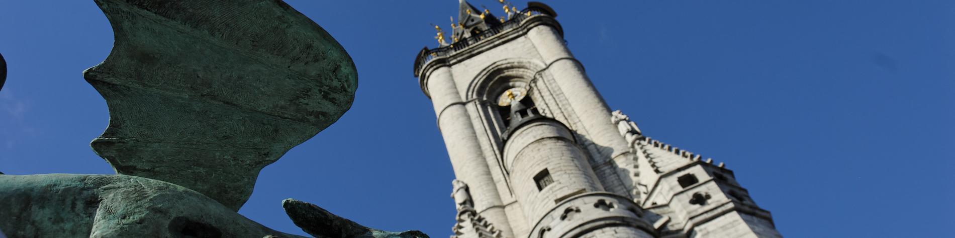 Tournai - Le Beffroi - patrimoine mondial - UNESCO