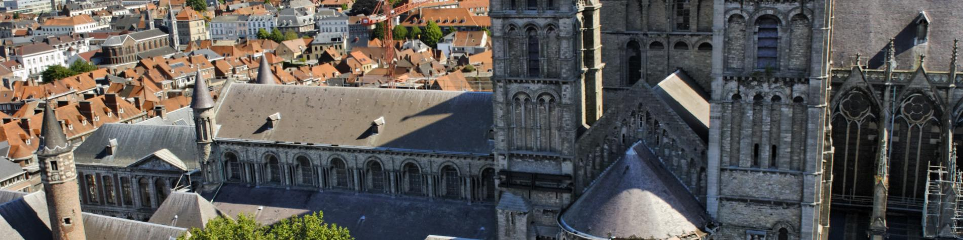Tournai - Cathédrale Notre-Dame - patrimoine mondial - UNESCO