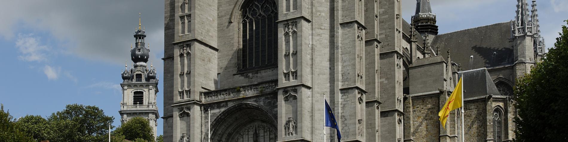 Collégiale - Sainte-Waudru - Mons