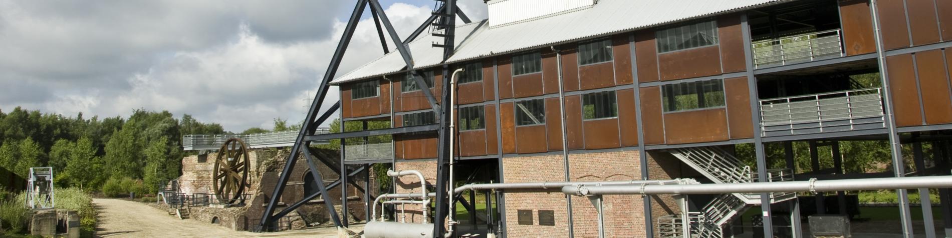 Marcinelle - Bois du Cazier - mine - charbonnage - patrimoine mondial de l'UNESCO