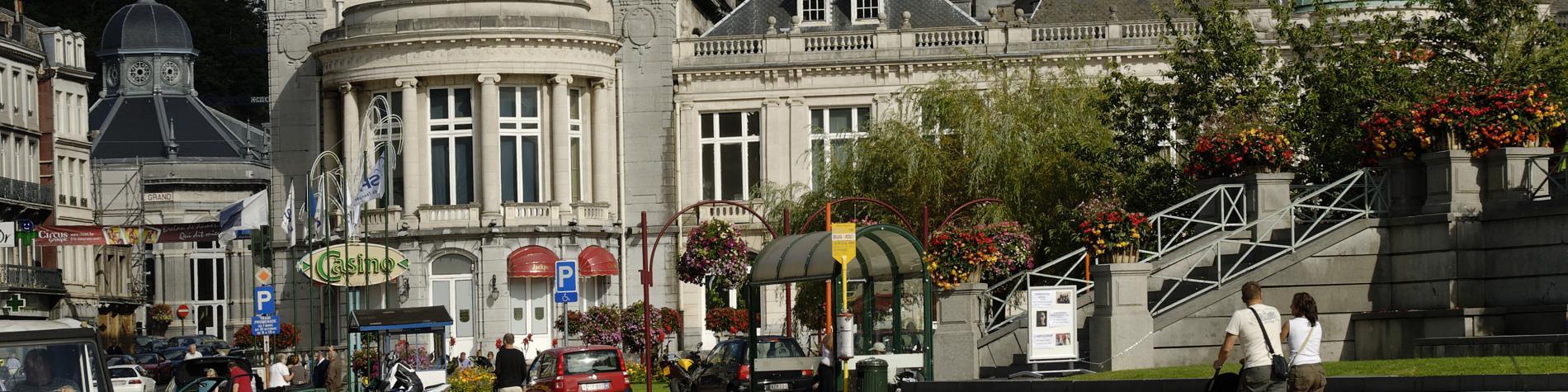 Casino - Spa - rue - façade