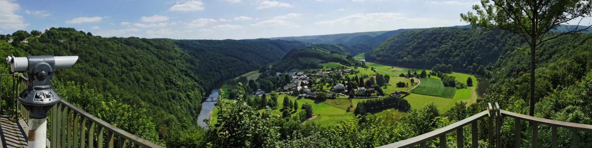 Rochehaut - panorama sur Frahan