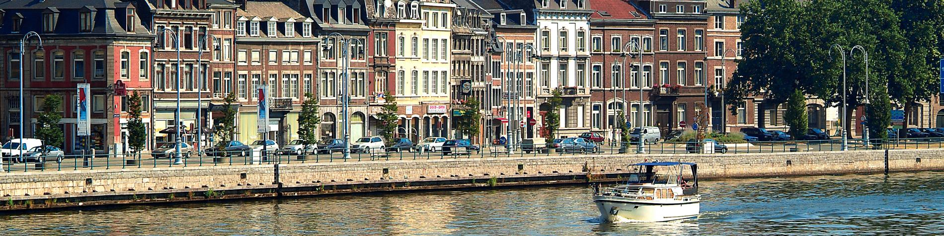 Promenade - bateaux - Liège