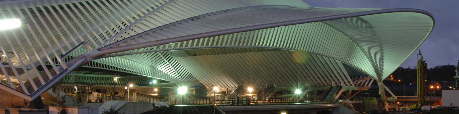Gare - Liège-Guillemins - Santiago Calatrava