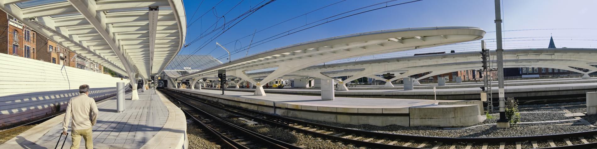 Gare de Liège-Guillemins - Liège - quais