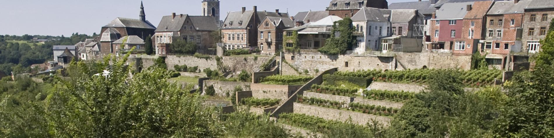 Thuin - Jardins suspendus - remparts