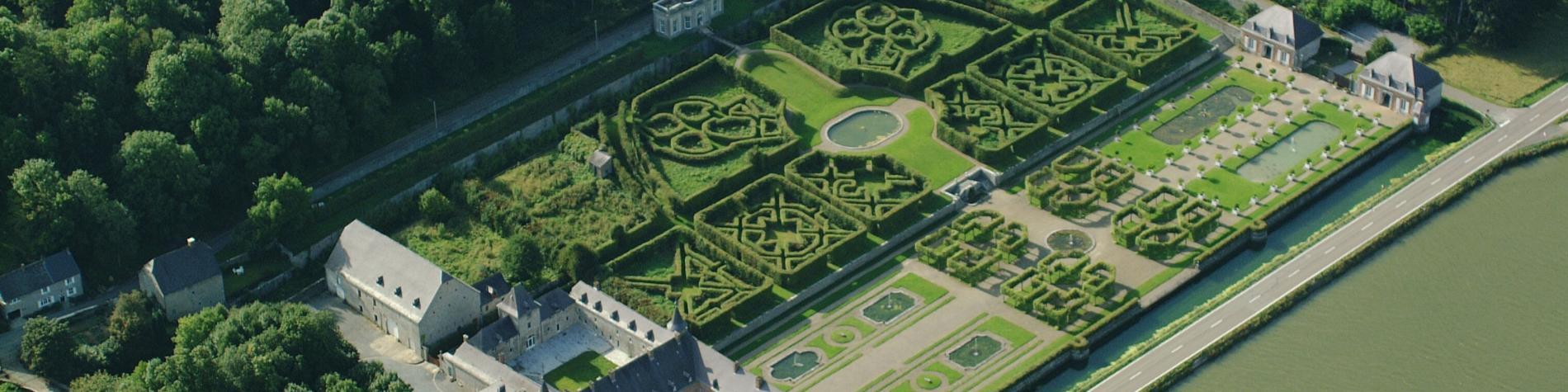 Château - Freÿr-sur-Meuse - jardins