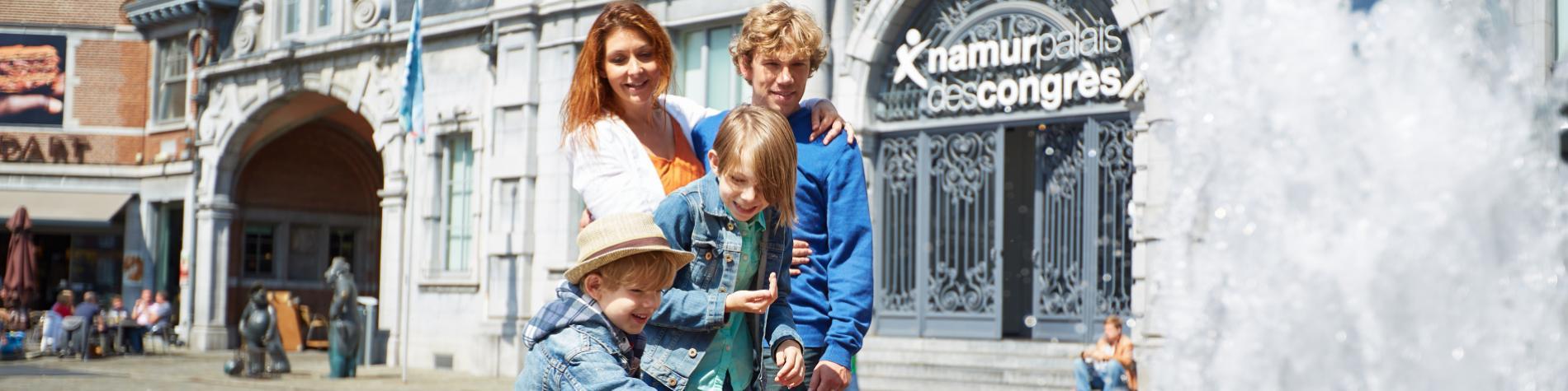 La Place d'Armes - Centre - Namur - famille - enfants