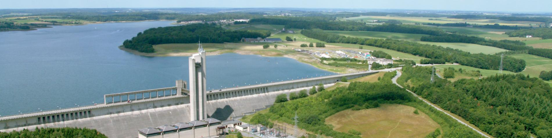 Discover the Eau d'Heure lakes, the Plate Taille dam at Boussu-lez-Walcourt