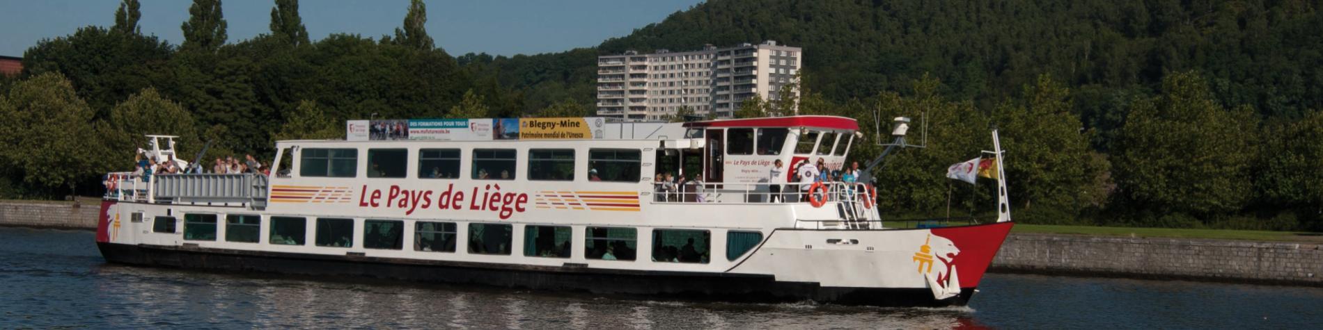 Croisière sur la Meuse - Pays de Liège