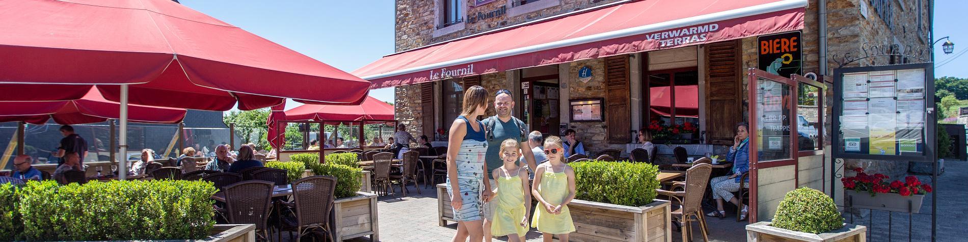 Famille - Village - ruralité - Redu - Libin - Luxembourg