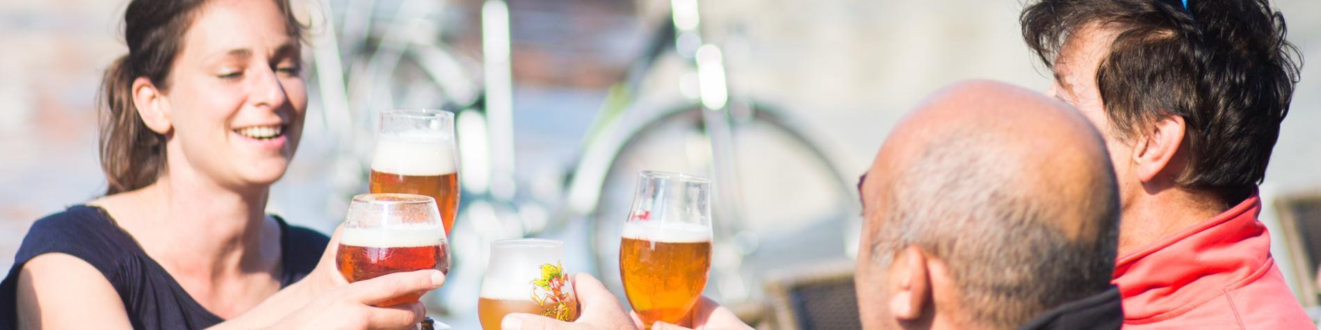 Tournai - terrasse - Grand-Place - bière - café