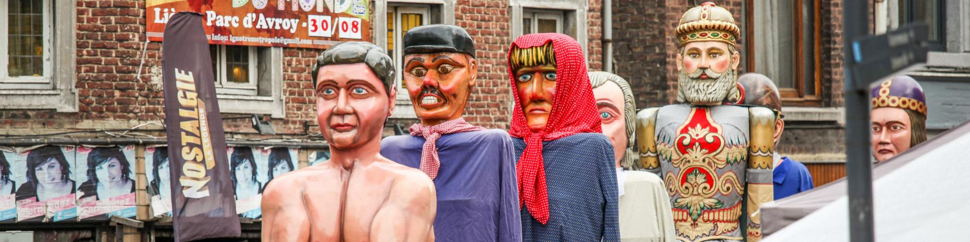 Meet the giants of the province of Liège at the 15th August Festival