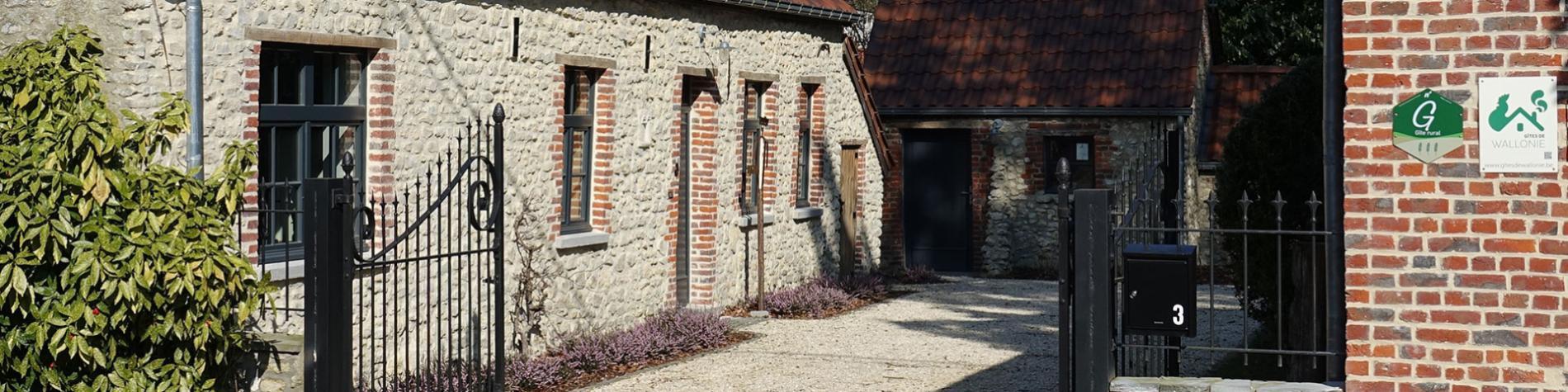 Gîte - Bruyères - Biez - 3 épis - fermette - brabançonne - XIXème siècle