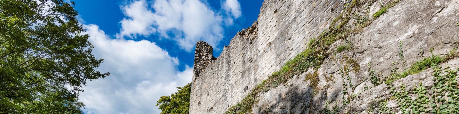 château fort - Logne - musée - médiévale