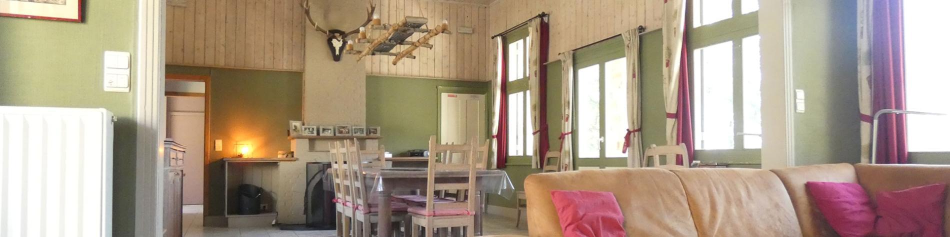 Gîte rural - Le Chaumont - Polleur - living
