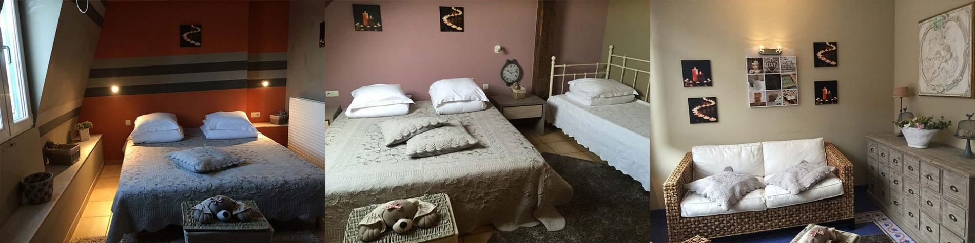 Hôtel - Margot'L - Rochefort - 6 chambres confortables