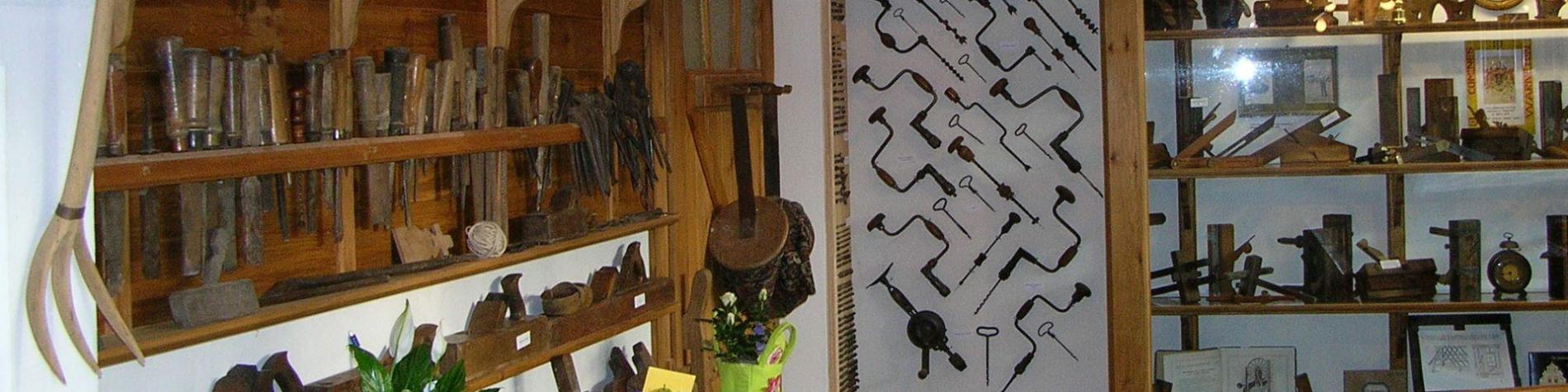 Musée rural - Menuiserie - Autrefois - Ploegsteert