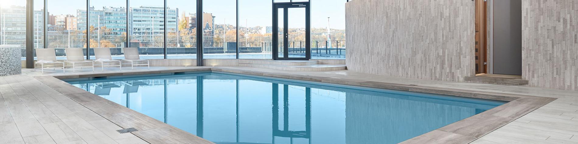 Hôtel - restaurant - Van der Valk - Liège Congrès - piscine
