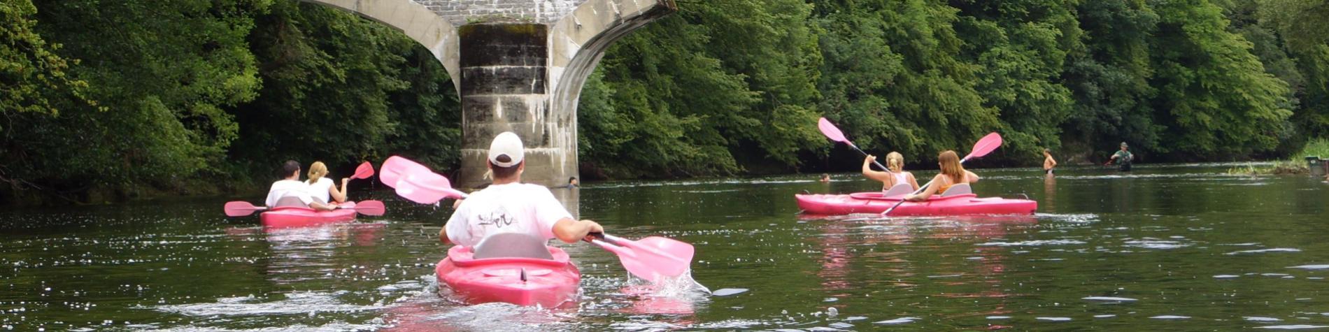 Kayak de la Vanne
