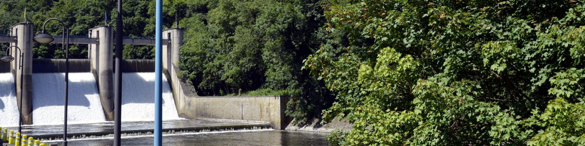 Lac - barrage - Nisramont - La Roche-en-Ardenne - province du luxembourg