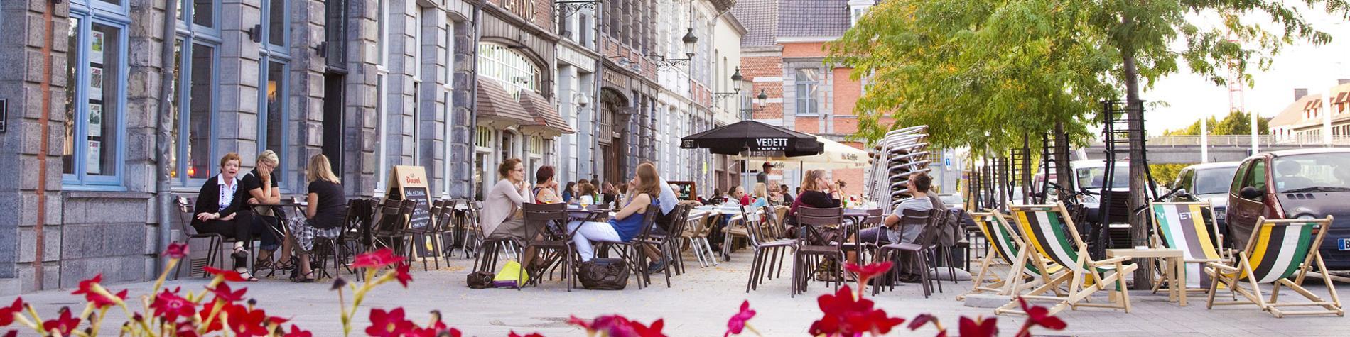 Tournai - Quai - marché au poisson