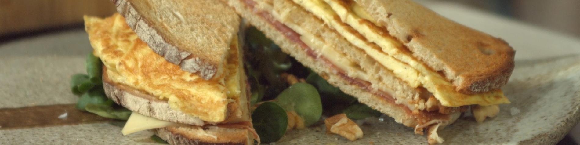 Recettes - cuisine - Julien Lapraille - sandwich - Gaume