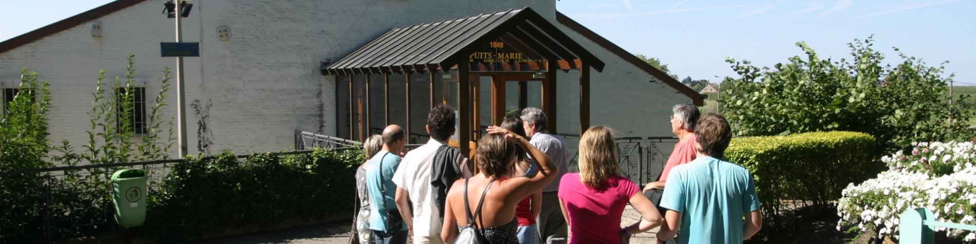 Petit train touristique de Blegny-Mine