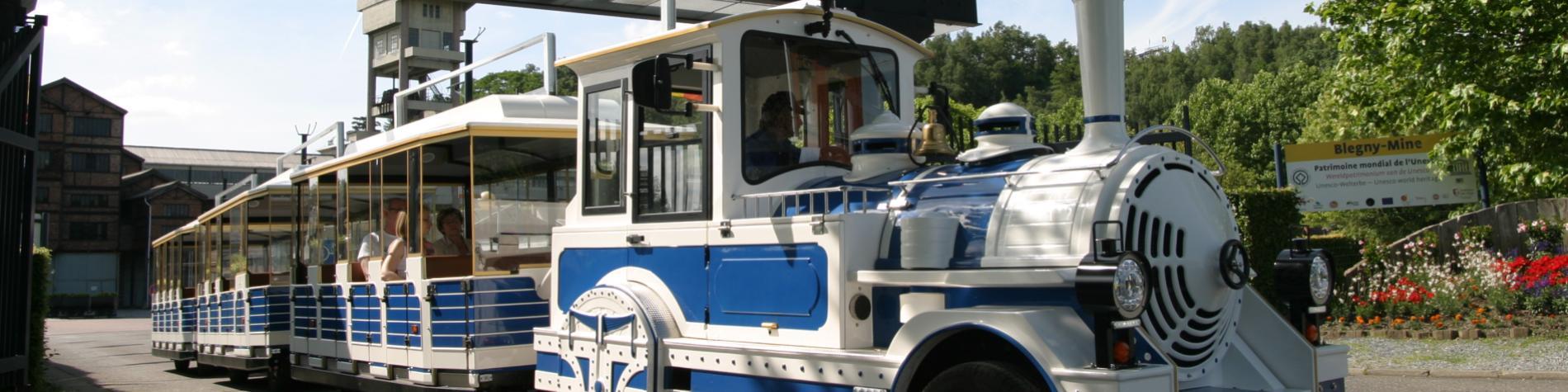 Le petit train touristique de Blegny-Mine
