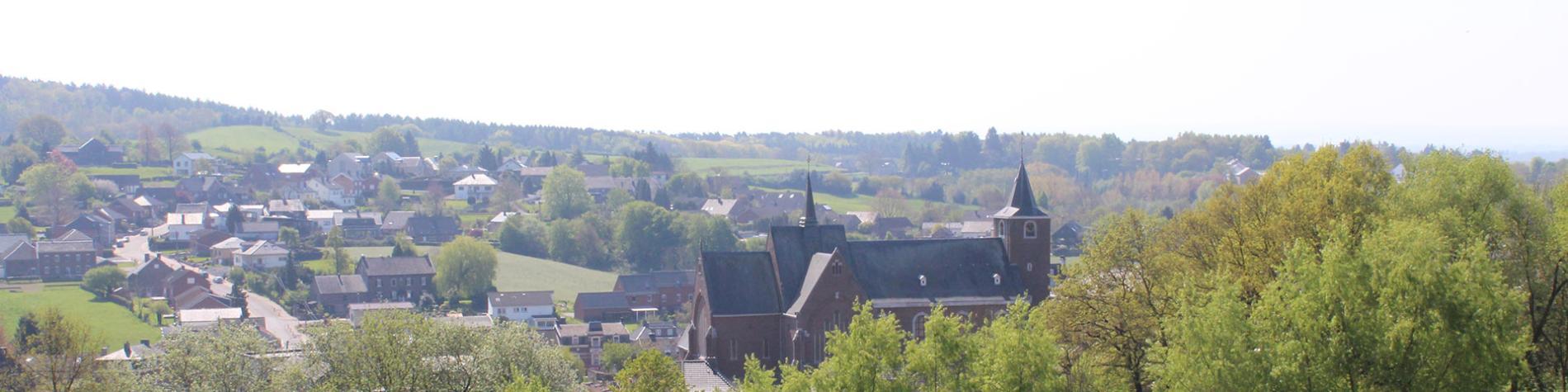 vue panoramique - Gemmenich - Tourisme Plombieres