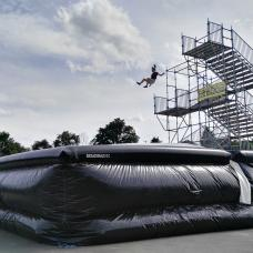 Big Adventure Airbag at the Adventure Valley Durbuy