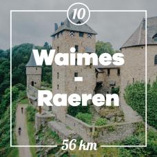 Blick auf die Burg Reinhardstein