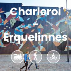 Fresque street art à Charleroi
