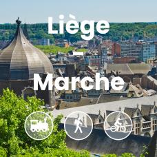 Vue des hauteurs de Liège