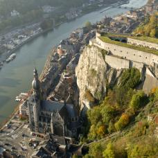 Dinant - photo aérienne - citadelle
