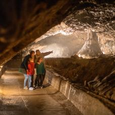 Come and explore world famous underground caves of Han in Han-sur-Lesse, province of Namur